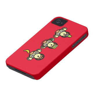 Wiser Apes Case-Mate iPhone 4 Case