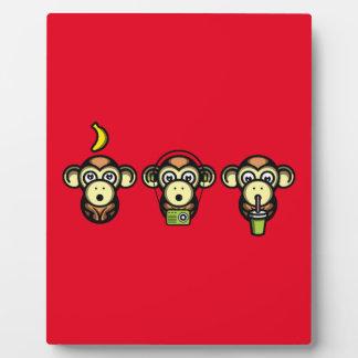 Wiser Apes Plaque
