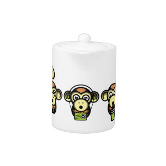 Wiser Apes Teapot