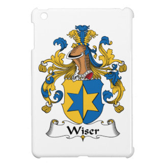 Wiser Family Crest iPad Mini Cover