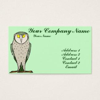 Wiser Owl Business Card