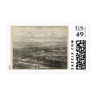 Wiser Ranche Lyonand Wabaunsee Counties Kansas Stamps
