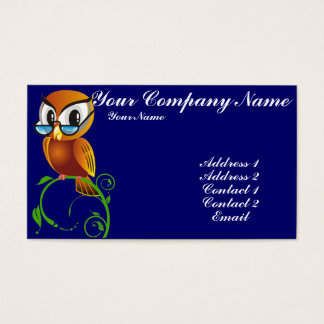 Wisest Owl Business Card
