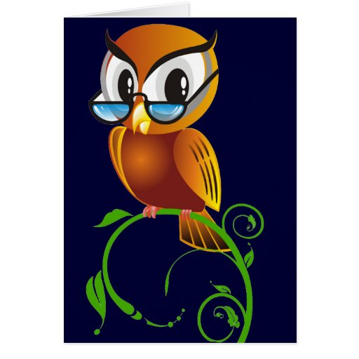 Wisest Owl Card