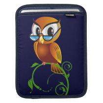 Wisest Owl iPad Sleeve