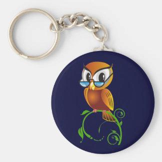 Wisest Owl Keychain
