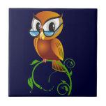 Wisest Owl Tile