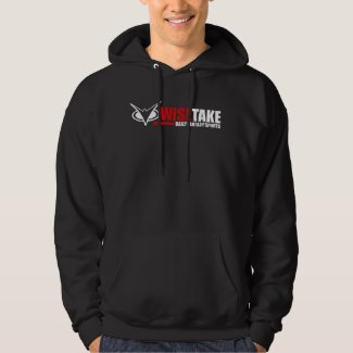 WiseTake Daily Fantasy Sports Black Hoodie