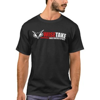WiseTake Daily Fantasy Sports Black T-Shirt