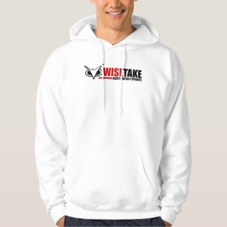 WiseTake Daily Fantasy Sports White Hoodie