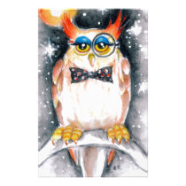 wisey owl stationery