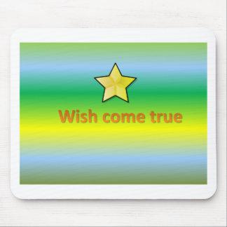 wish come true mouse pad
