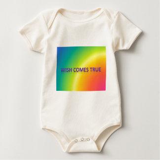 wish comes true baby bodysuit