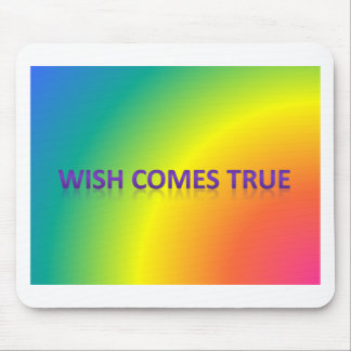 wish comes true mouse pad
