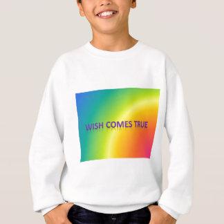 wish comes true sweatshirt