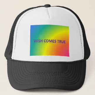 wish comes true trucker hat