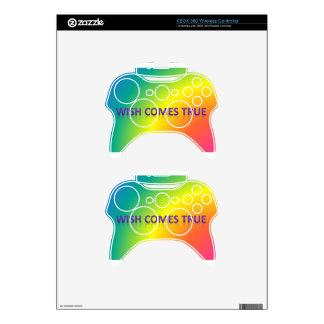 wish comes true xbox 360 controller skin