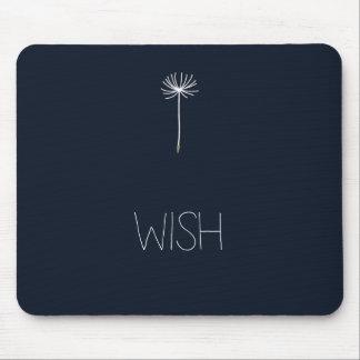 Wish Dandelion Mouse Pad