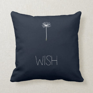 Wish Dandelion Throw Pillow