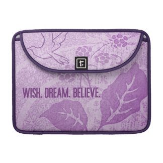 Wish. Dream. Believe. MacBook Pro Sleeves