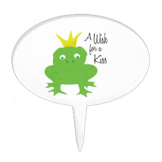 Wish For Kiss Cake Picks