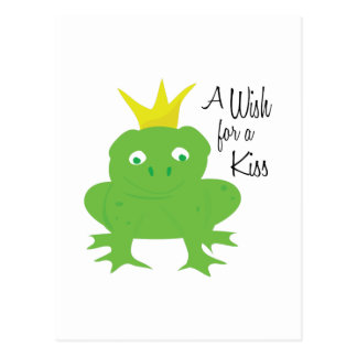 Wish For Kiss Postcards