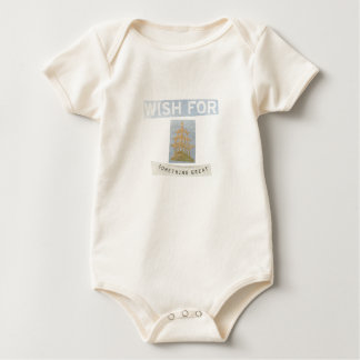 wish for something great baby bodysuit