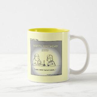 Wish for Your 2009 Birthday Two-Tone Coffee Mug