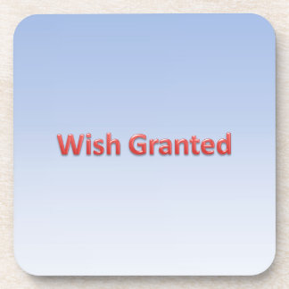 wish granted coaster