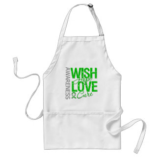 Wish Hope Love Cure Cerebral Palsy Adult Apron