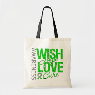 Wish Hope Love Cure Cerebral Palsy Budget Tote Bag