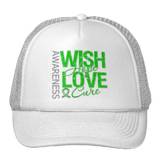 Wish Hope Love Cure Cerebral Palsy Trucker Hat
