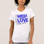 Wish Hope Love Cure Colon Cancer Tee Shirt