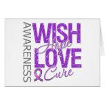 Wish Hope Love Cure Fibromyalgia Cards