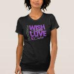 Wish Hope Love Cure Fibromyalgia T-shirt