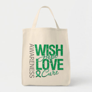 Wish Hope Love Cure Liver Cancer Bag