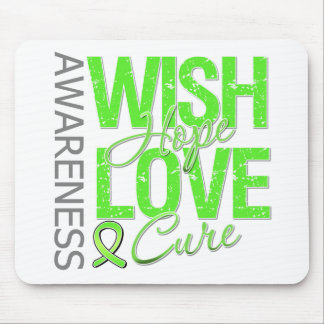 Wish Hope Love Cure Lyme Disease Mouse Pad