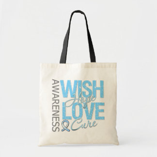 Wish Hope Love Cure Prostate Cancer Bags