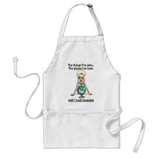 Wish I Could Remember Adult Apron
