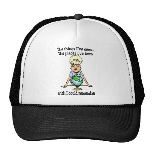 Wish I Could Remember Mesh Hats