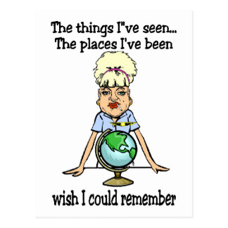 Wish I Could Remember Postcard