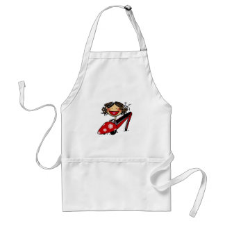 Wish I could ride my shoe... Adult Apron