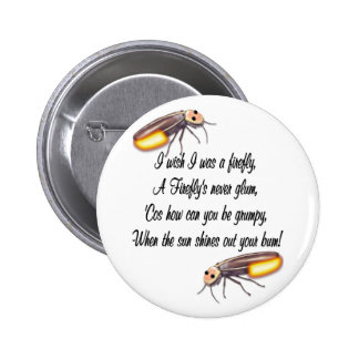 Wish I was a Firefly Pinback Buttons