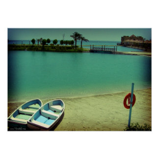 Wish I was here - Al Bander Resort, Bahrain Poster