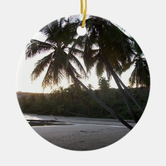 'Wish I were at the Beach' Ornament