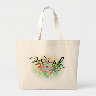 Wish Jumbo Tote Bag