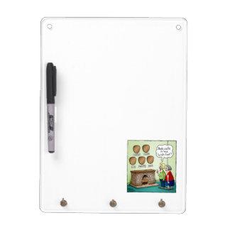Wish List Hunting Cartoon Dry Erase Board