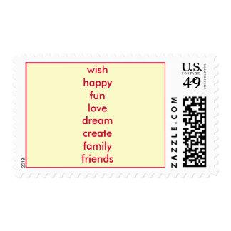 Wish List Postage