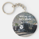 Wish my car had a whistle keychains