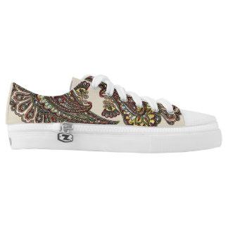 Wish Paisley Boho Gems Low-Top Sneakers
